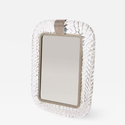 Barovier Toso 1950s Italian rectangular dressing table mirror photo frame
