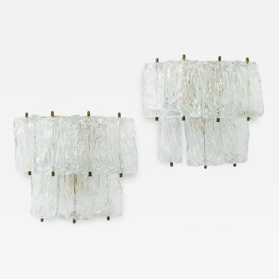 Barovier Toso A pair of wall lights