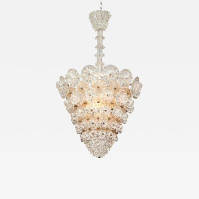 Barovier Toso BAROVIER TOSO CHANDELIER MADE IN VENICE