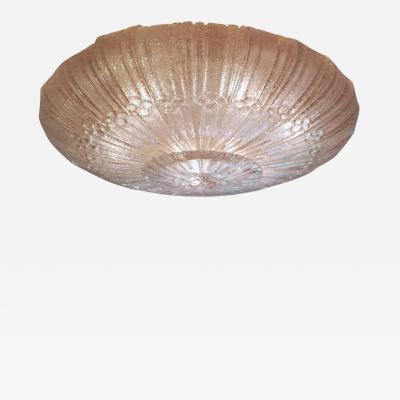 Barovier Toso Barovier Style Murano Glass Ceiling Pendant