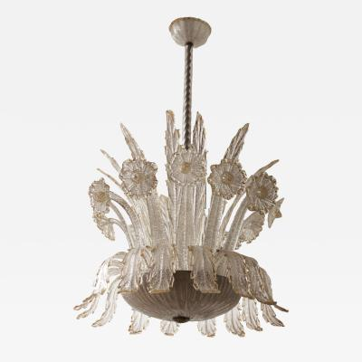 Barovier Toso Barovier Toso Chandelier Italy 1940