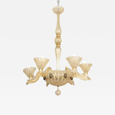 Barovier Toso Barovier Toso Chandelier Made in Venice 1935