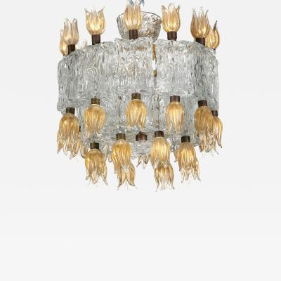 Barovier Toso Barovier Toso chandelier 50s