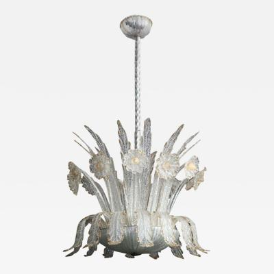 Barovier Toso Barovier and Toso Chandelier Made in Venice 1940