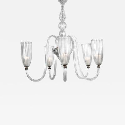 Barovier Toso CHANDELIER IN THE MANNER OF BAROVIER TOSO