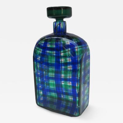 Barovier Toso Christian Dior Art Glass Flask