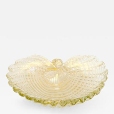 Barovier Toso Console Bowl by Barovier Toso