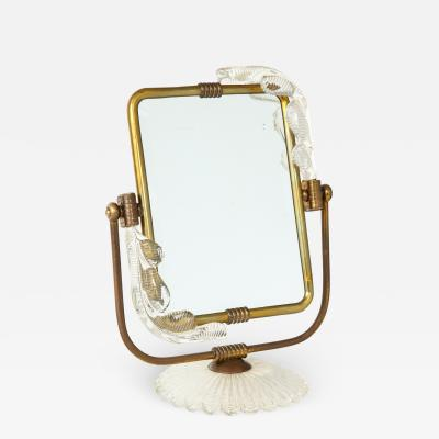 Barovier Toso Frame and mirror 2 in 1 from Murano circa 1940