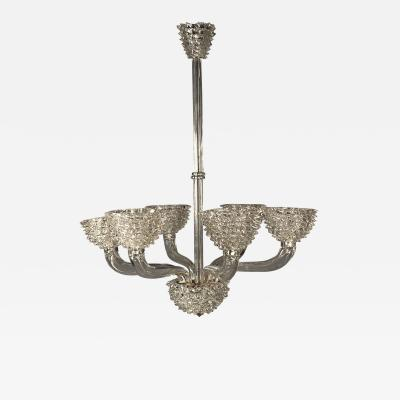 Barovier Toso Glass Chandelier