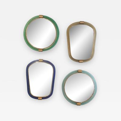 Barovier Toso Grouping of Murano Glass Mirrors by Barovier Toso
