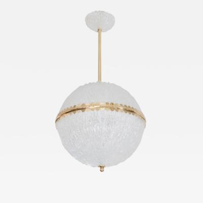 Barovier Toso LARGER STRIATED GLASS PENDANT