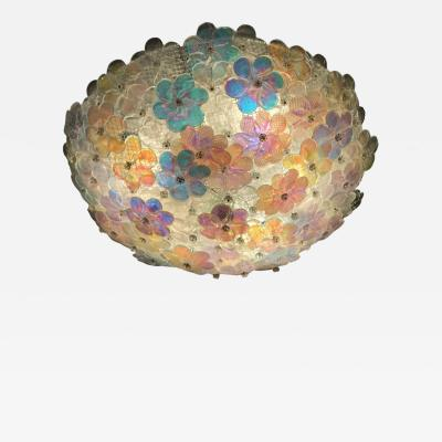 Barovier Toso Lovely Murano Ceiling Lamp by Barovier Toso 1960