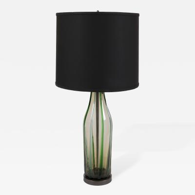 Barovier Toso Mid Century Murano Glass Lamp by Barovier Toso circa 1950s