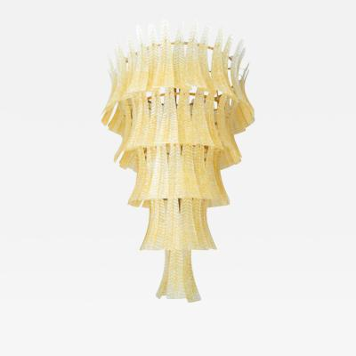 Barovier Toso Monumental Cascade Chandelier by Barovier e Toso