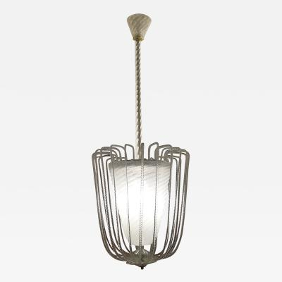 Barovier Toso Murano Fountain Chandelier by Barovier and Toso