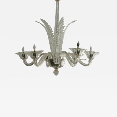 Barovier Toso Murano Glass Chandelier