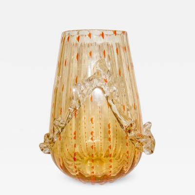 Barovier Toso Murano Glass Vase