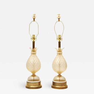 Barovier Toso PAIR OF LAMPS ATT TO BAROVIER TOSO