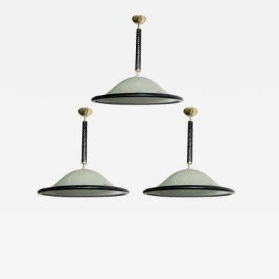 Barovier Toso Three Melusina Pendants by Barovier e Toso