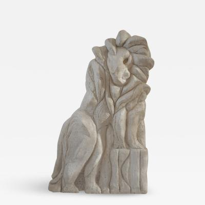 Bella Hunt DDC LEO Lion sculpture