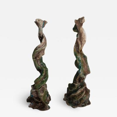 Bella Hunt DDC RAMO DI VITE DUO Pair of candlesticks