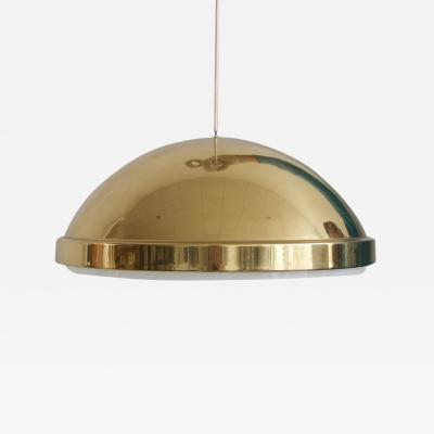 Bergboms Brass Ceiling Lamp with Acrylic Screen by Bergboms