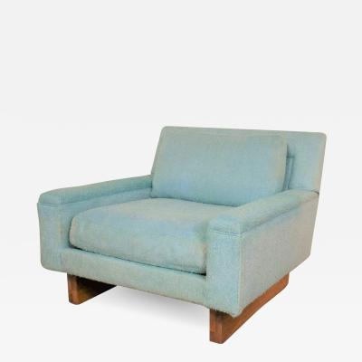 Bernhardt Furniture Company Vintage mid century modern club lounge chair by flair division for bernhardt