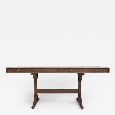 Bernini Hardwood Desk by Gianfranco Frattini for Bernini