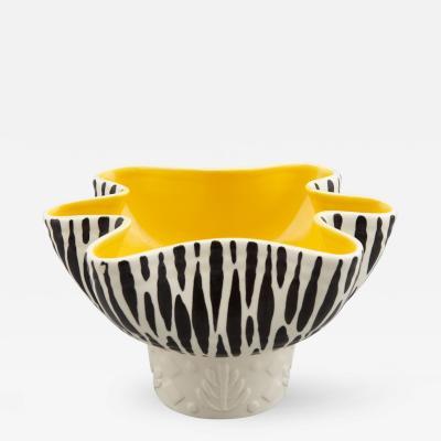 Beswick Beswick Mid Century Zebra Stripe Planter Bowl