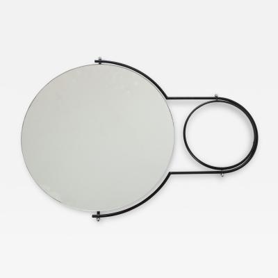Bieffeplast Modernist Wall Mirror by Rodney Kinsman for Bieffeplast 1980s