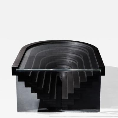Birnam Wood Studio Brutiful U I Coffee Table Geometric Coffee Table by Birnam Wood Studio