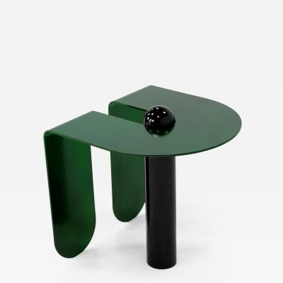 Birnam Wood Studio Playful Geometric Side Table by Birnam Wood Studio and Suna Bonometti