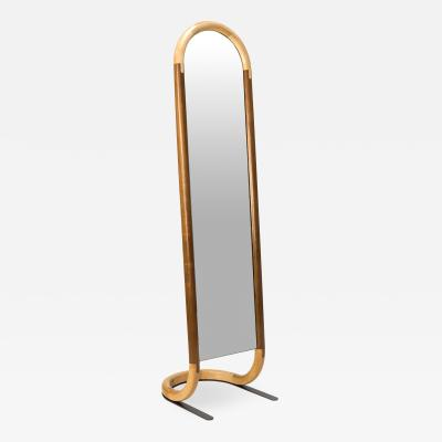 Birnam Wood Studio Standing Halo Mirror by Birnam Wood Studio