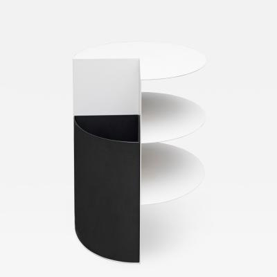 Birnam Wood Studio Total Garbage Side Table Planter Birnam Wood Studio Black and White