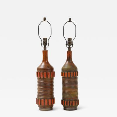 Bitossi Alvino Bagni Bitossi Ceramic Lamps