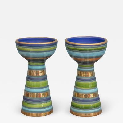 Bitossi Bitossi Ceramic Candlesticks
