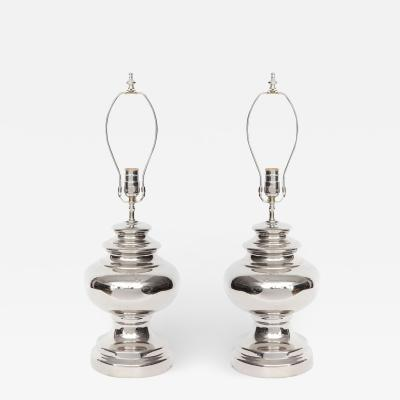 Bitossi Bitossi Platinum Glazed Ceramic Lamps