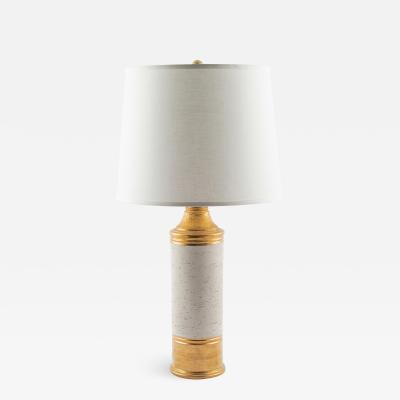 Bitossi Bitossi gold Birch lamp for Bergboms circa 1960s