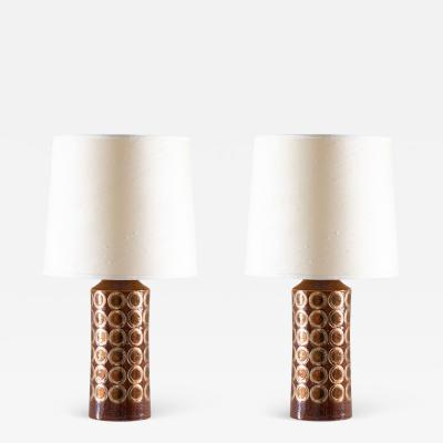 Bitossi Midcentury Table Lamps by Aldo Londi for Bitossi