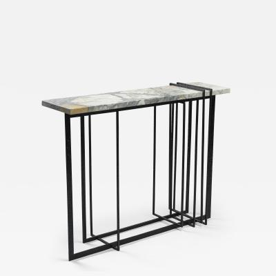 Blend Roma Handcrafted Console in Iron and Marble Italy 2021