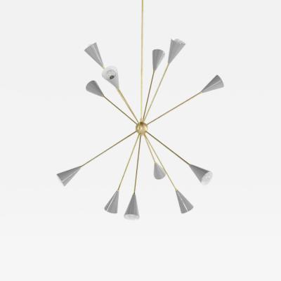 Blueprint Lighting Spore Chandelier