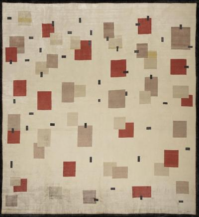 Boccara Boccara Hand knotted Limited Edition Artistic Rug Design N 11 silk