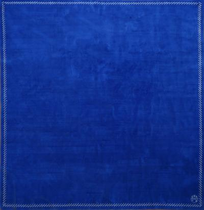 Boccara Boccara Limited Edition Artistic Rug Homage to Yves Klein