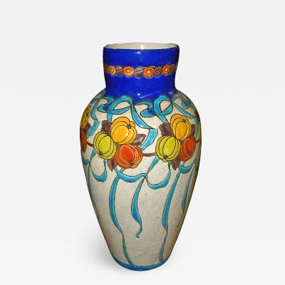 Boch Fr res Keramis Co Large Charles Catteau Boch Ceramic Vase