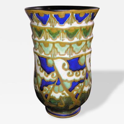 Boch Fr res Keramis Co Stunning Keramis Pottery Vase