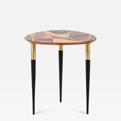 Bodafors Bodafors Side Table with Intarsia