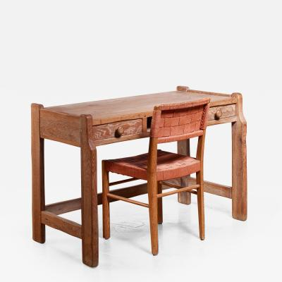 Bodafors Oak ladys desk with Axel Larsson chair