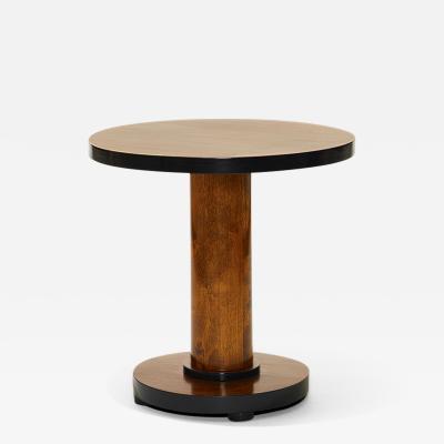 Bodafors Swedish Art Deco Functionalist Side Occasional Table in Birch
