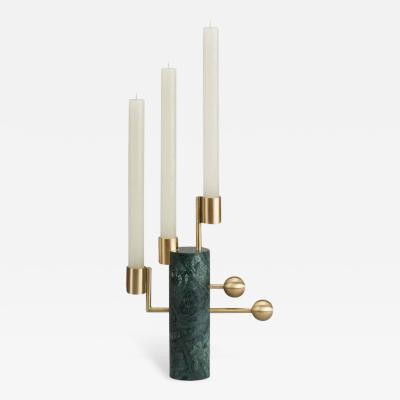 Bohinc Studio Stargazer Candleholder Multi Verde Guatemala