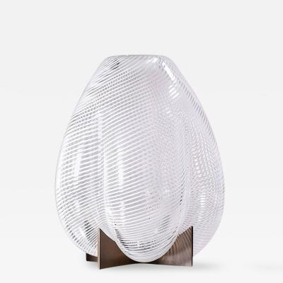 Bohinc Studio Venturi Pear White Unique Vase